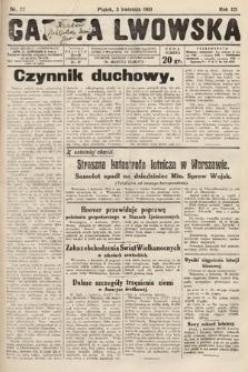 Gazeta Lwowska. 1931, nr77