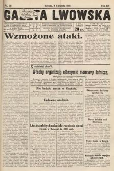 Gazeta Lwowska. 1931, nr78