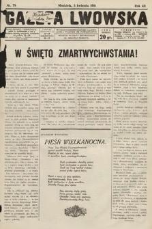 Gazeta Lwowska. 1931, nr79