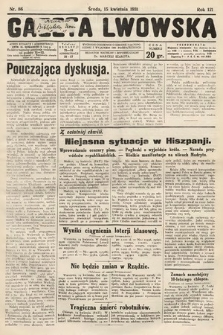 Gazeta Lwowska. 1931, nr86