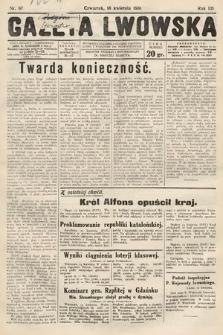 Gazeta Lwowska. 1931, nr87