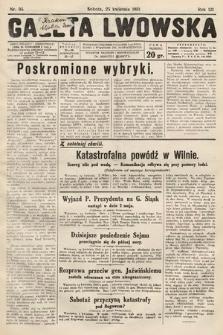 Gazeta Lwowska. 1931, nr95