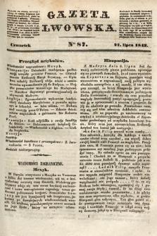 Gazeta Lwowska. 1843, nr 87