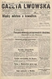Gazeta Lwowska. 1931, nr145