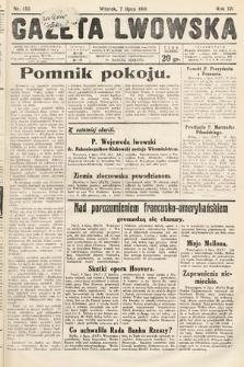 Gazeta Lwowska. 1931, nr153