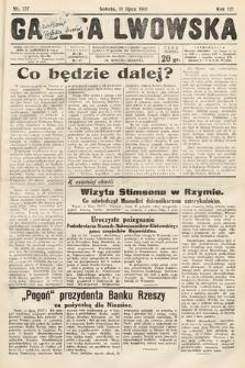Gazeta Lwowska. 1931, nr157