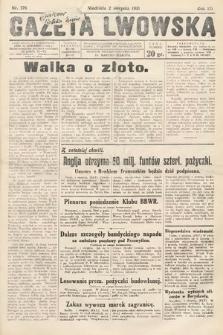 Gazeta Lwowska. 1931, nr176
