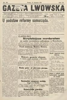 Gazeta Lwowska. 1931, nr184