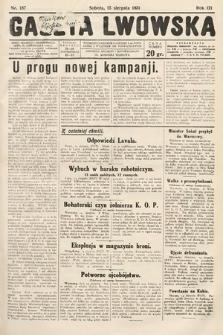 Gazeta Lwowska. 1931, nr187