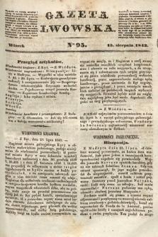 Gazeta Lwowska. 1843, nr 95