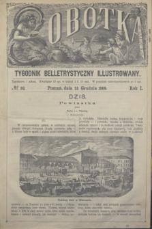 Sobótka : tygodnik belletrystyczny illustrowany. R.1, № 52 (25 grudnia 1869)