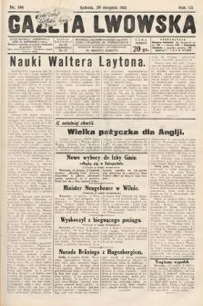 Gazeta Lwowska. 1931, nr198