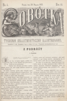 Sobótka : tygodnik belletrystyczny illustrowany. R.3, nr 5 (28 stycznia 1871)