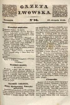 Gazeta Lwowska. 1843, nr 96
