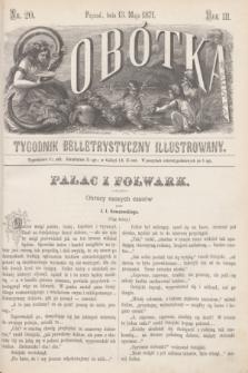 Sobótka : tygodnik belletrystyczny illustrowany. R.3, nr 20 (13 maja 1871)