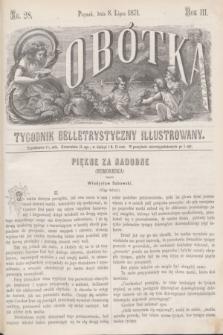Sobótka : tygodnik belletrystyczny illustrowany. R.3, nr 28 (8 lipca 1871)