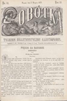 Sobótka : tygodnik belletrystyczny illustrowany. R.3, nr 32 (5 sierpnia 1871)