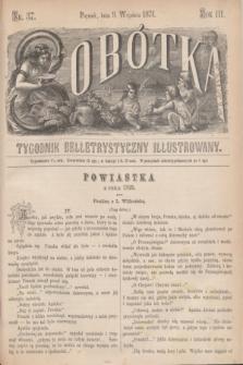 Sobótka : tygodnik belletrystyczny illustrowany. R.3, nr 37 (9 września 1871)