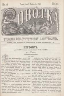 Sobótka : tygodnik belletrystyczny illustrowany. R.3, nr 41 (7 października 1871)