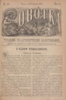 Sobótka : tygodnik belletrystyczny illustrowany. R.3, nr 48 (25 listopada 1871)
