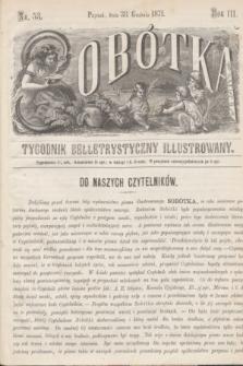 Sobótka : tygodnik belletrystyczny illustrowany. R.3, nr 53 (30 grudnia 1871)