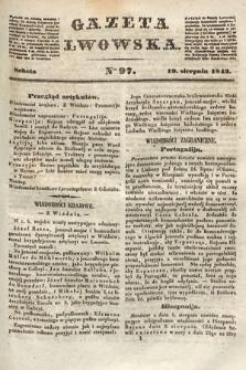 Gazeta Lwowska. 1843, nr 97
