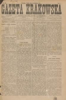 Gazeta Krakowska. R.1, nr 84 (30 grudnia 1881)