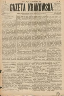 Gazeta Krakowska. R.3, nr 89 (20 kwietnia 1883)