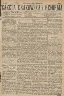 Gazeta Krakowska i Reforma. R.2, nr 229 (31 grudnia 1882)