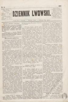 Dziennik Lwowski. [R.1], nr 4 (5 stycznia 1867)