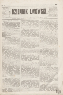 Dziennik Lwowski. [R.1], nr 5 (6 stycznia 1867)