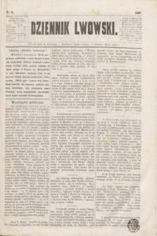 Dziennik Lwowski. [R.1], nr 6 (8 stycznia 1867)