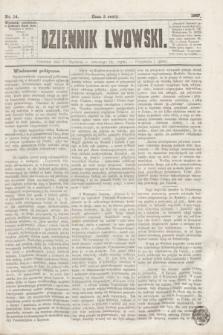 Dziennik Lwowski. [R.1], nr 14 (17 stycznia 1867)