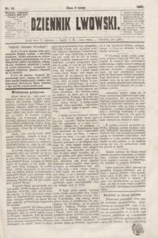 Dziennik Lwowski. [R.1], nr 19 (23 stycznia 1867)