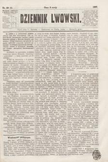 Dziennik Lwowski. [R.1], nr 20/21 (25 stycznia 1867)