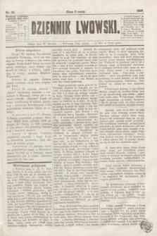 Dziennik Lwowski. [R.1], nr 22 (26 stycznia 1867)