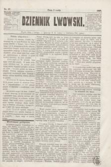 Dziennik Lwowski. [R.1], nr 27 (1 lutego 1867)