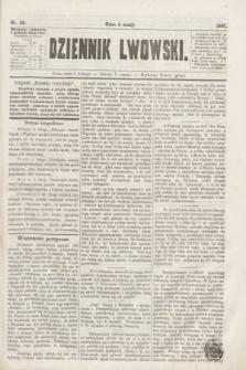 Dziennik Lwowski. [R.1], nr 30 (6 lutego 1867)