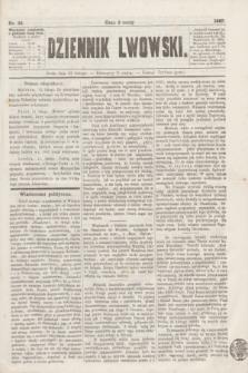 Dziennik Lwowski. [R.1], nr 36 (13 lutego 1867)