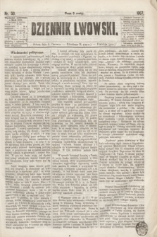 Dziennik Lwowski. [R.1], nr 50 (1 czerwca 1867)
