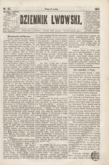 Dziennik Lwowski. [R.1], nr 53 (5 czerwca 1867)