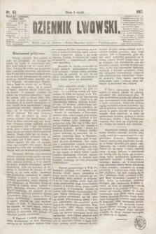 Dziennik Lwowski. [R.1], nr 63 (18 czerwca 1867)