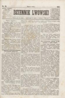 Dziennik Lwowski. [R.1], nr 90 (23 lipca 1867)