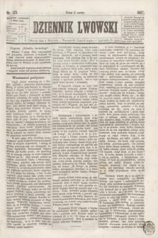 Dziennik Lwowski. [R.1], nr 125 (3 września 1867)