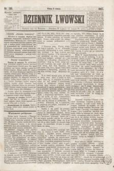 Dziennik Lwowski. [R.1], nr 136 (15 września 1867)