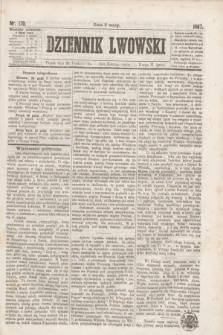 Dziennik Lwowski. [R.1], nr 170 (25 października 1867)