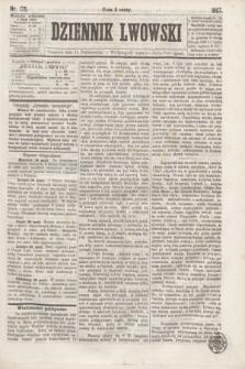 Dziennik Lwowski. [R.1], nr 175 (31 października 1867)
