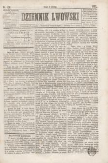 Dziennik Lwowski. [R.1], nr 176 (1 listopada 1867)