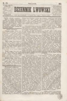 Dziennik Lwowski. [R.1], nr 179 (6 listopada 1867)