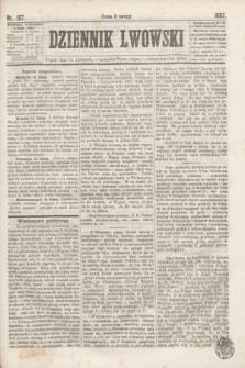 Dziennik Lwowski. [R.1], nr 187 (15 listopada 1867)